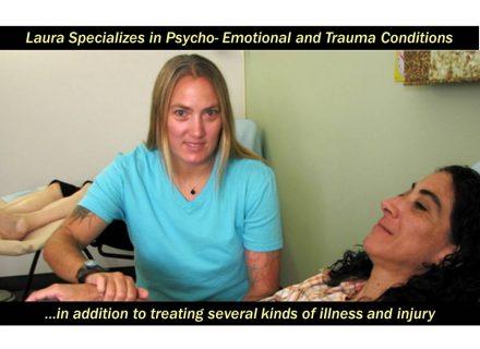 Acupuncturist Laura Wolf