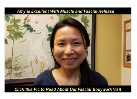 Acupuncturist Amy Chong