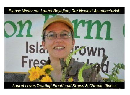 Acupuncturist Laurel Boyajian